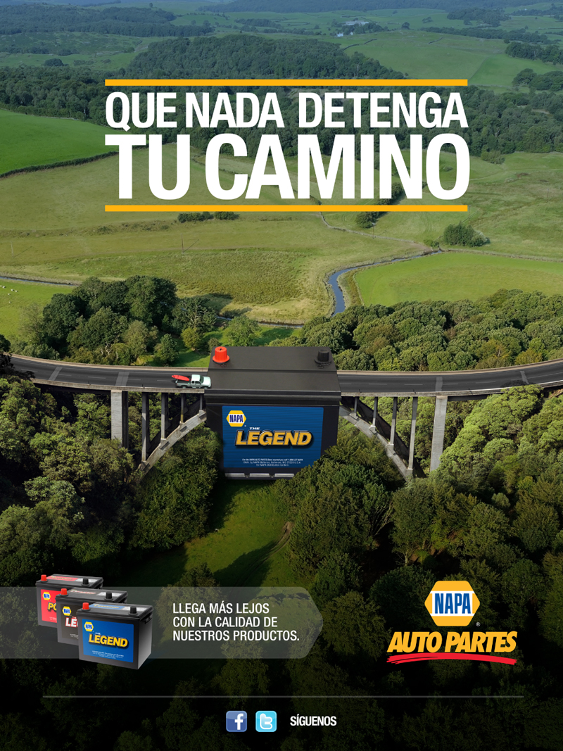 car print ads napa auto parts hispanic napa legend