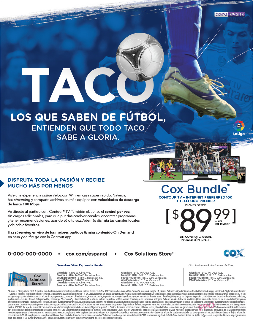 cox communications advertising soccer digital banner
