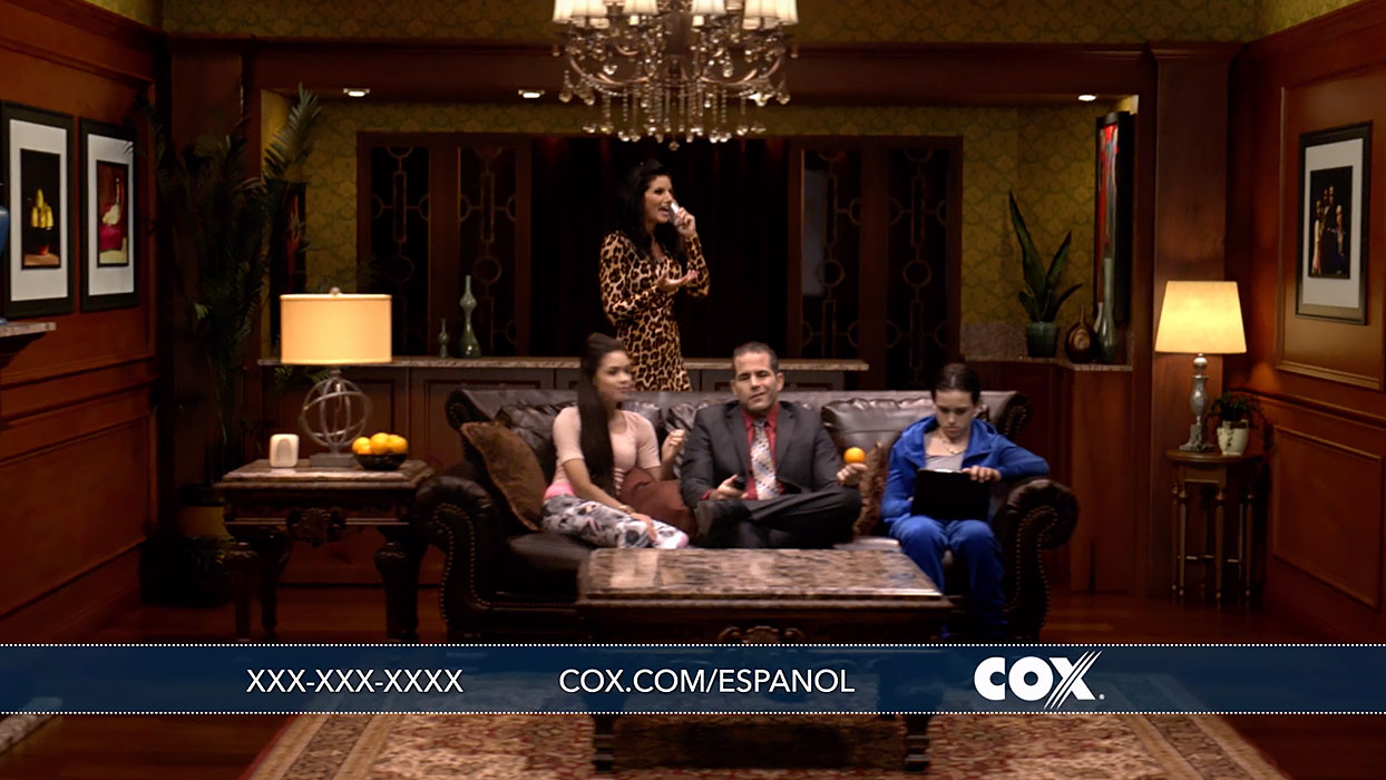 cox communications telecom ads households