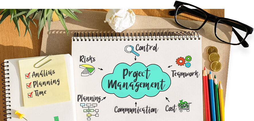 elements and tools of project management in advertising pm3 agency