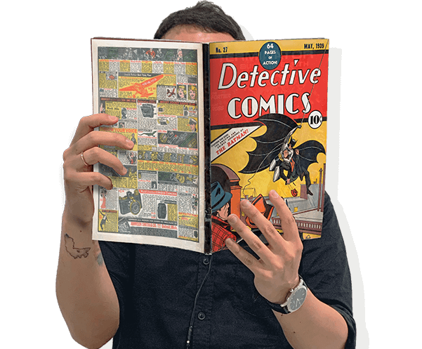 first batman comic book history of comic books