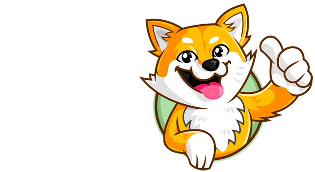orange fox or mascot of mozilla firefox brand with thumps up